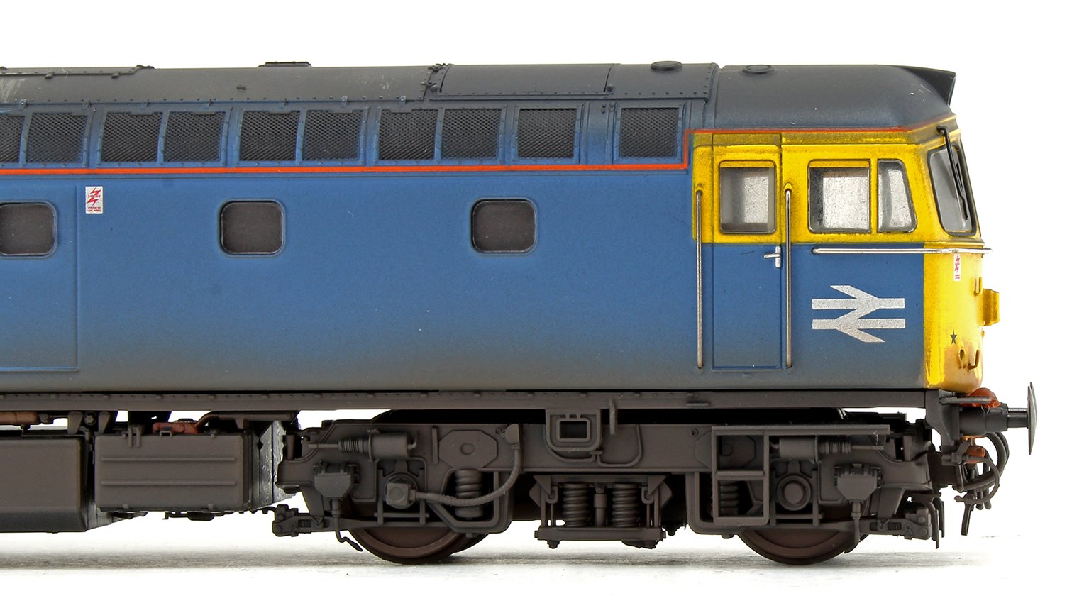 Class 33 012 BR Blue Diesel Locomotive (Weathered & Faded)