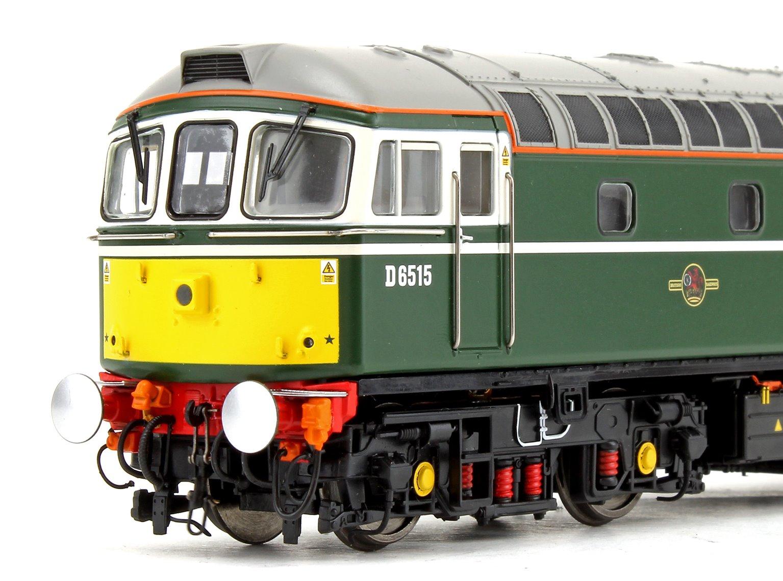 Class 33 D6515 'Lt Jenny Lewis RN' BR Green (Small Yellow Panel) Diesel Locomotive