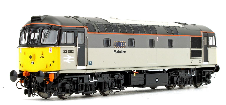 Class 33 063 Mainline Grey Diesel Locomotive