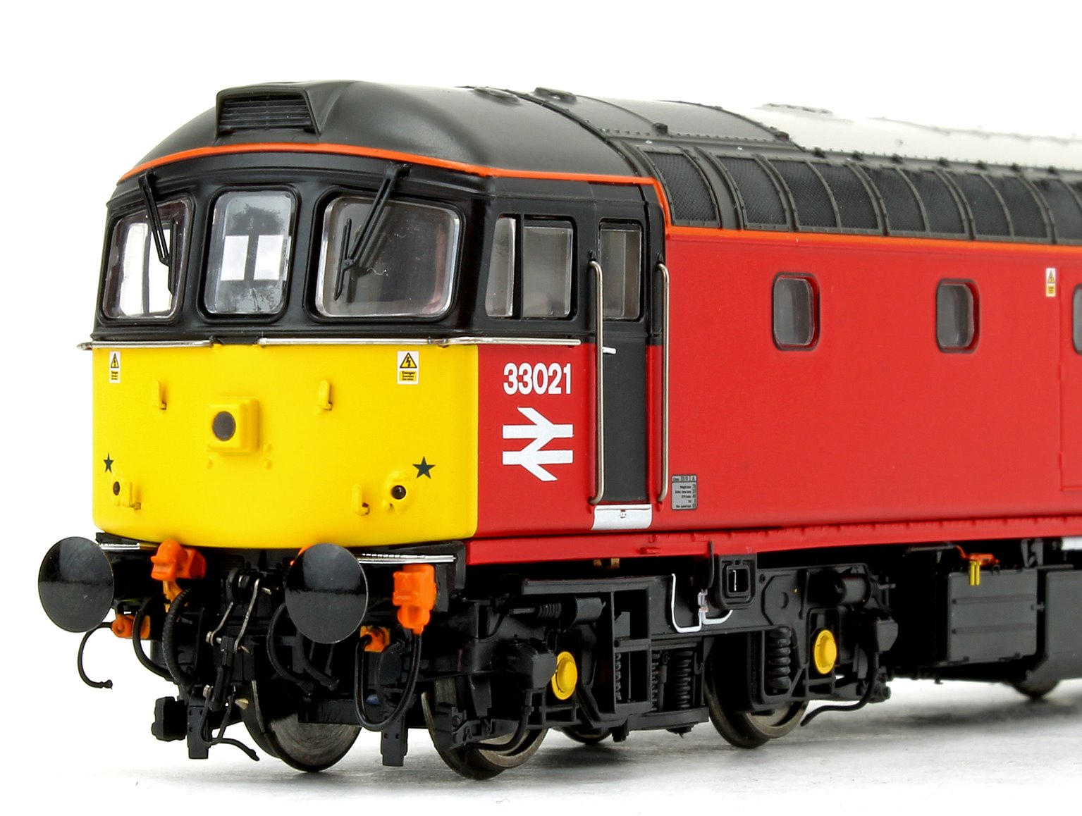 Class 33 021 'Eastleigh' Post Office Red Diesel Locomotive