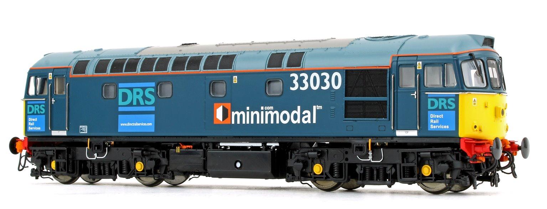 Class 33/0 V3 (33025 + 33030) DRS Minimodal Locomotive Twin Pack