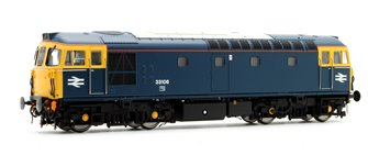 Class 33/1 'Crompton' 33106 in BR Blue with Full Yellow Ends (Push-Pull)
