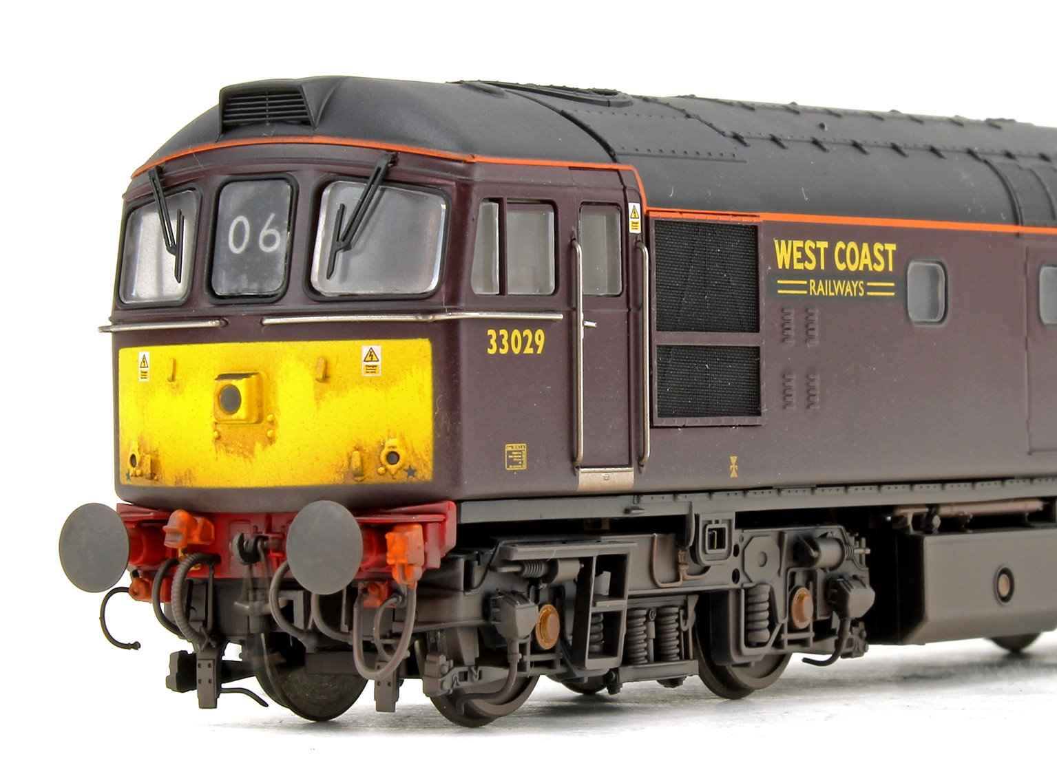 Class 33 029 West Coast Railways Maroon Diesel Locomotive (Weathered)