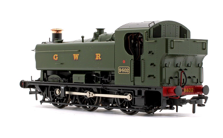 GWR 94XX Pannier Tank 9402 GWR Green (GWR) Tank Locomotive DCC Sound