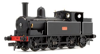 LNWR Webb Coal Tank in LNWR Plain Black 0-6-2 Tank Locomotive No.1054