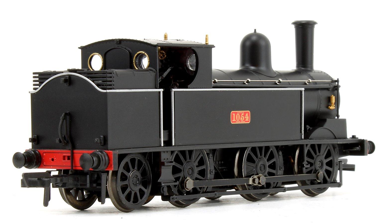 LNWR Webb Coal Tank in LNWR Plain Black 0-6-2 Tank Locomotive No.1054