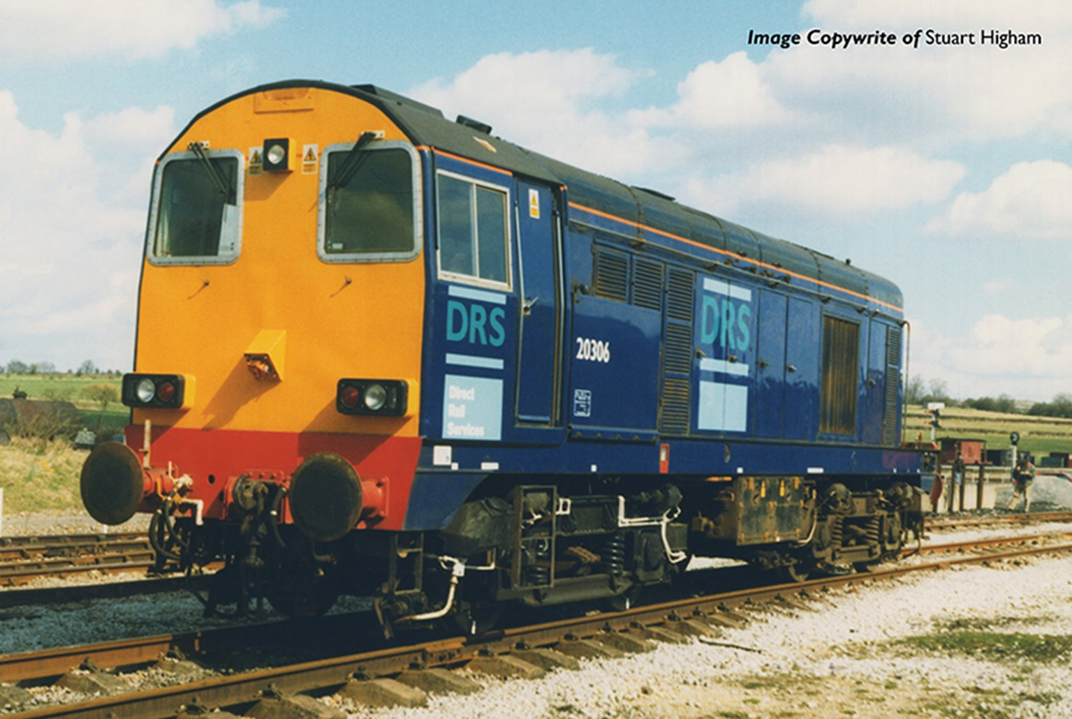 Class 20/3 20306 DRS Direct Rail Services Diesel Locomotive