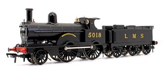 LNWR Improved Precedent Class 'Talavera' LMS Black 2-4-0 Steam Locomotive No.5018