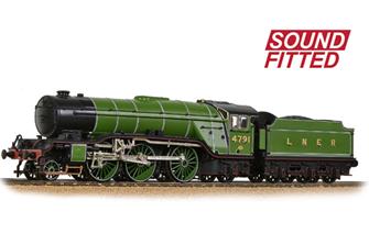 LNER V2 4791 LNER Lined Green (Original) - DCC Sound
