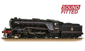 LNER V2 60845 BR Lined Black (Early Emblem) - DCC Sound