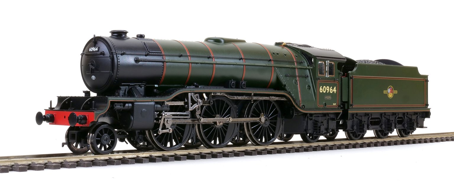 'Durham Light Infantry' BR Lined Green (Late Crest) Class V2 2-6-2 Steam Locomotive No.60964