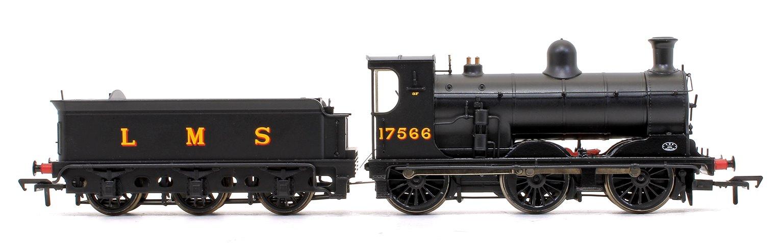 McIntosh 812 Class 0-6-0 Steam Locomotive in LMS Black Livery No.17566