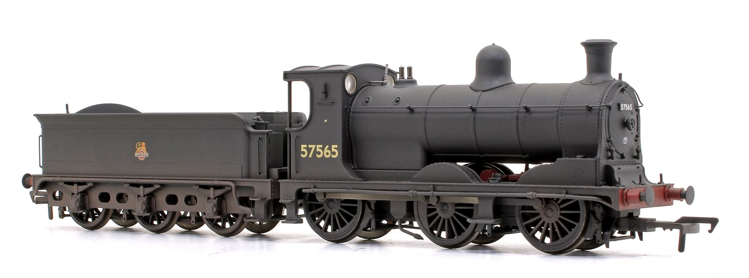 McIntosh 812 Class 0-6-0 Steam Locomotive in BR Black Early Emblem No.57565 (Weathered)