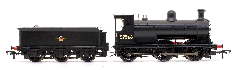 McIntosh 812 Class 0-6-0 Steam Locomotive in BR Black Late Crest No.57566