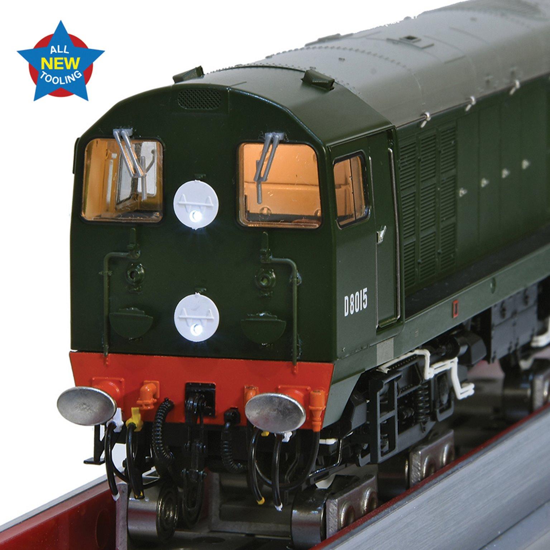 Class 20/0 Disc Headcode D8015 BR Green (Late Crest) Diesel Locomotive