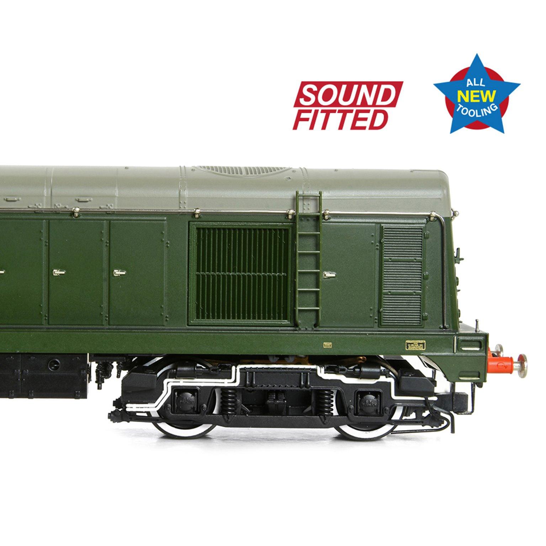 Class 20/0 Disc Headcode D8015 BR Green (Late Crest) Diesel Locomotive (DCC Sound)