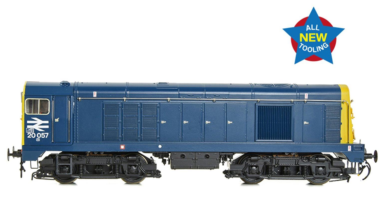 Class 20/0 Disc Headcode 20057 BR Blue Diesel Locomotive