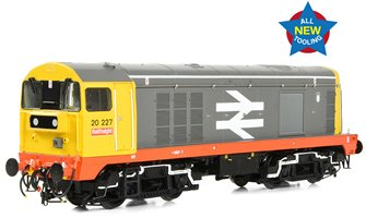 Class 20/0 Headcode Box 20227 BR Railfreight (Red Stripe) Diesel Locomotive