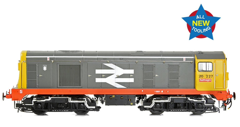 Class 20/0 Headcode Box 20227 BR Railfreight (Red Stripe) Diesel Locomotive