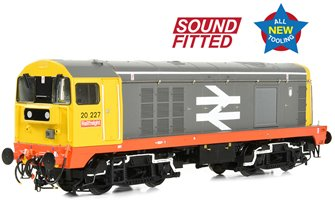 Class 20/0 Headcode Box 20227 BR Railfreight (Red Stripe) Diesel Locomotive (DCC Sound)
