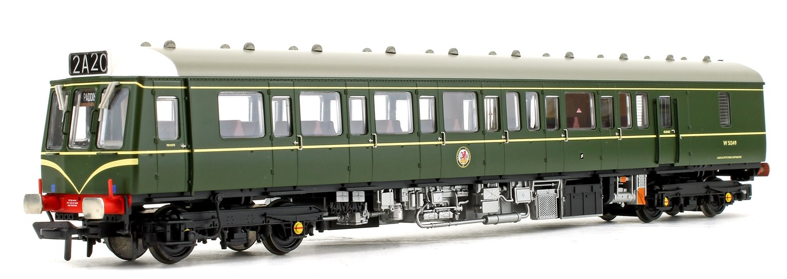 Class 117 3-Car DMU BR Green (Speed Whiskers)