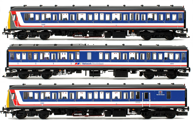 Class 117 3-Car DMU BR Network SouthEast (Revised) DCC Sound