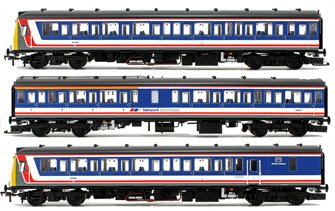 Class 117 3-Car DMU BR Network SouthEast (Revised) DCC Sound