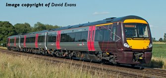 Class 170/1 3-Car DMU No. 170104 in Cross Country livery(Price is estimated - we will notify you if price rises and offer option to cancel)
