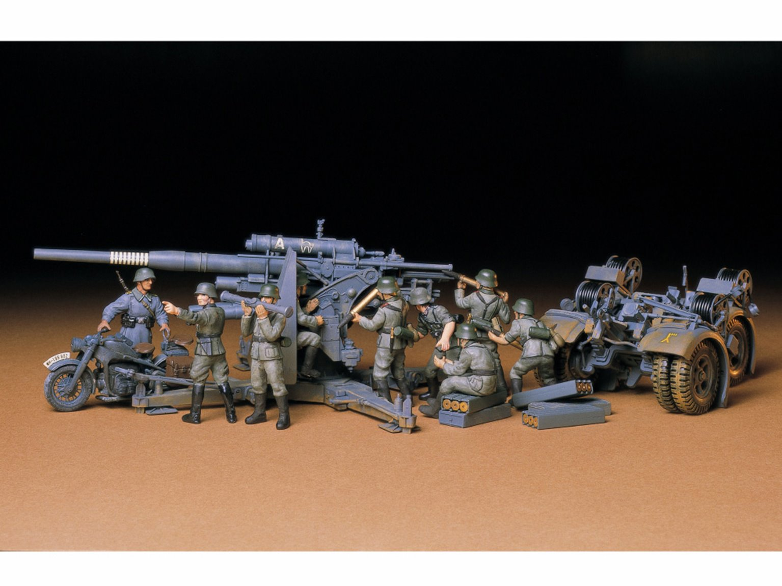 1:35 Military Miniature Series no.17 German 88mm Gun Flak 36/37