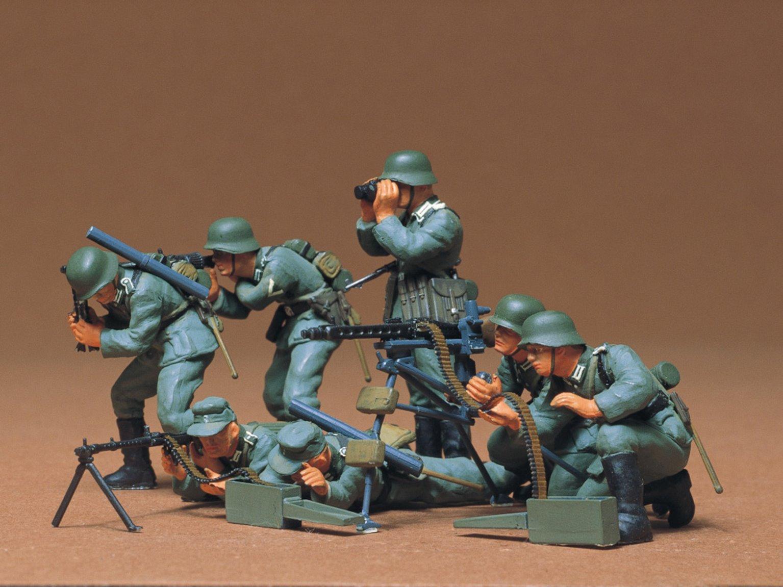 1/35 Military Miniature Series no.38 German Machine Gun Troops