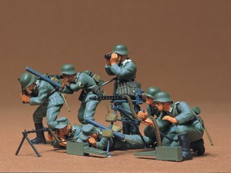 1/35 Military Miniature Series no.38 German Machine Gun Troops
