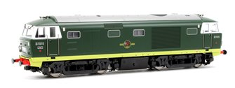 Class 35 Hymek BR Green (As Built) D7015 Locomotive