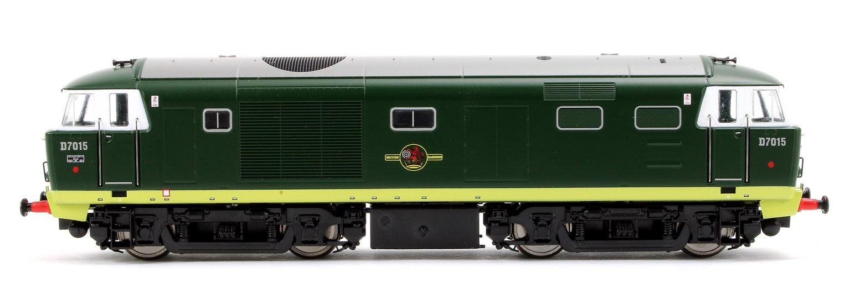 Class 35 Hymek BR Green (As Built) D7015 Locomotive