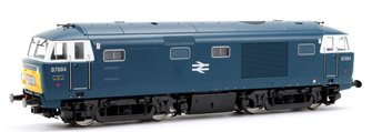 Class 35 Hymek BR early Blue (Small yellow warning panels) D7004 Locomotive