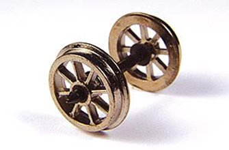 Metal Spoked Wagon Wheels (x10)