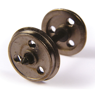 Metal 3 Hole Disc Wagon Wheels (x10)