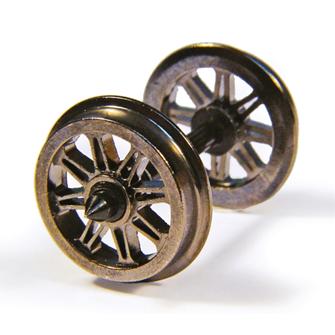 Metal Split Spoke Wagon Wheels (x10)