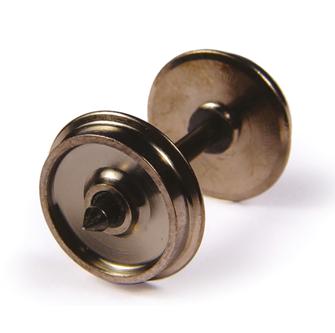 Brass Turned Wagon Disc Brake Wheels (x10)