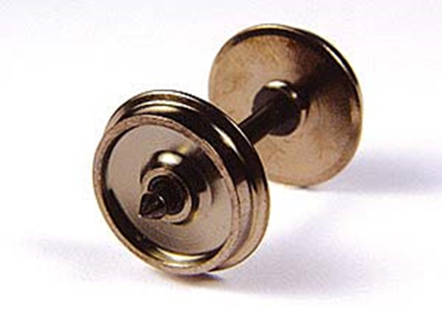 Brass Turned Wagon Disc Brake Wheels (x10)