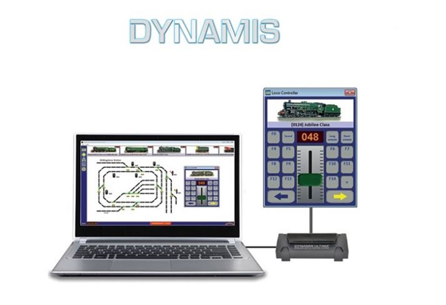 Dynamis RailController Software