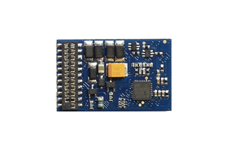E-Z Command 1 Amp 4 Function 21 Pin DCC Decoder + Back EMF