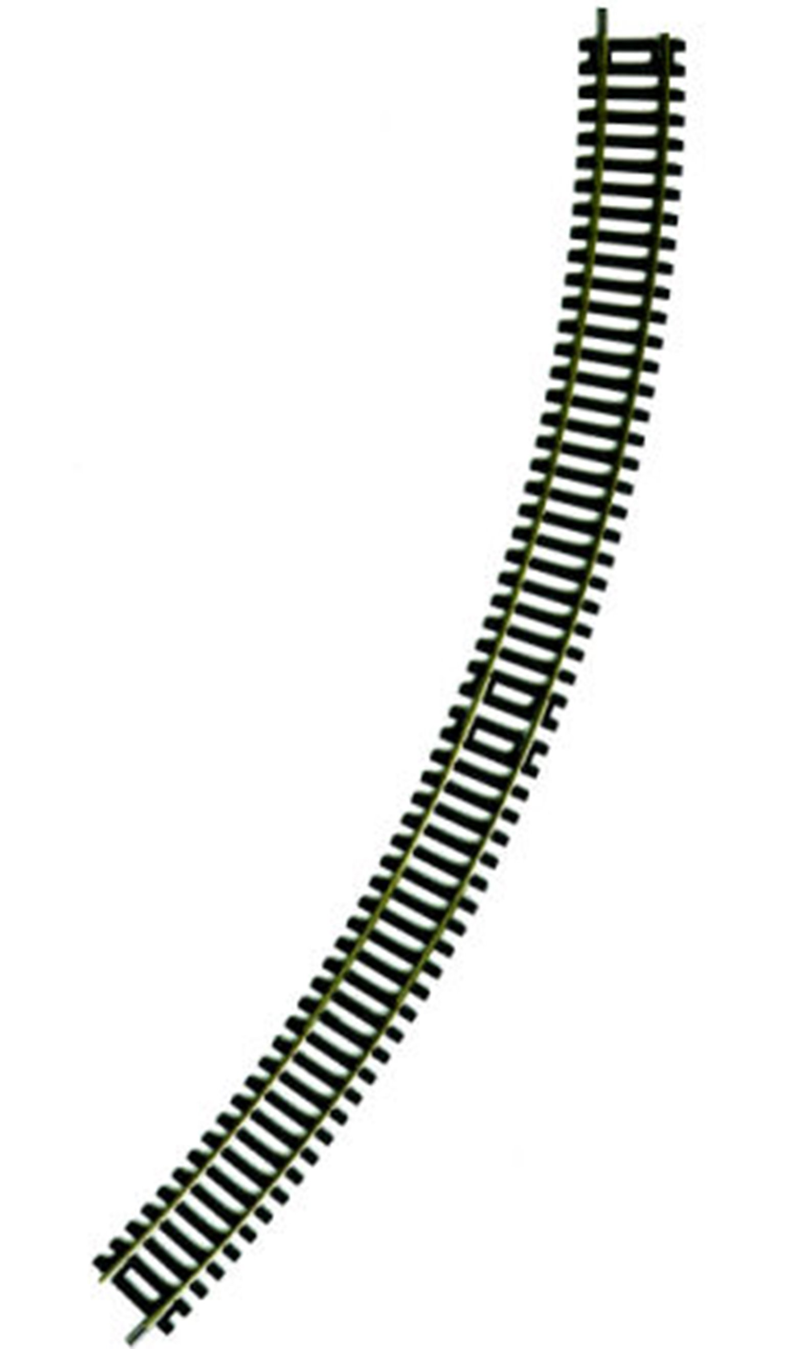 36-609 3rd Radius Double Curve 505mm (OO Gauge) by