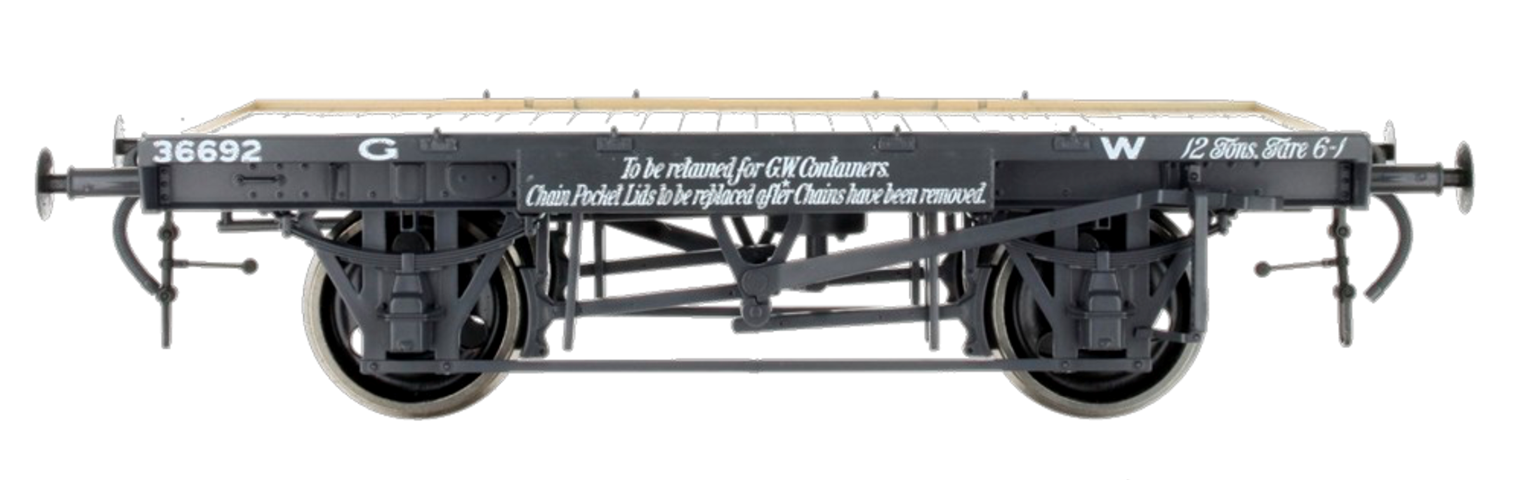 GWR Conflat 36692 12Tons Tare 6-1