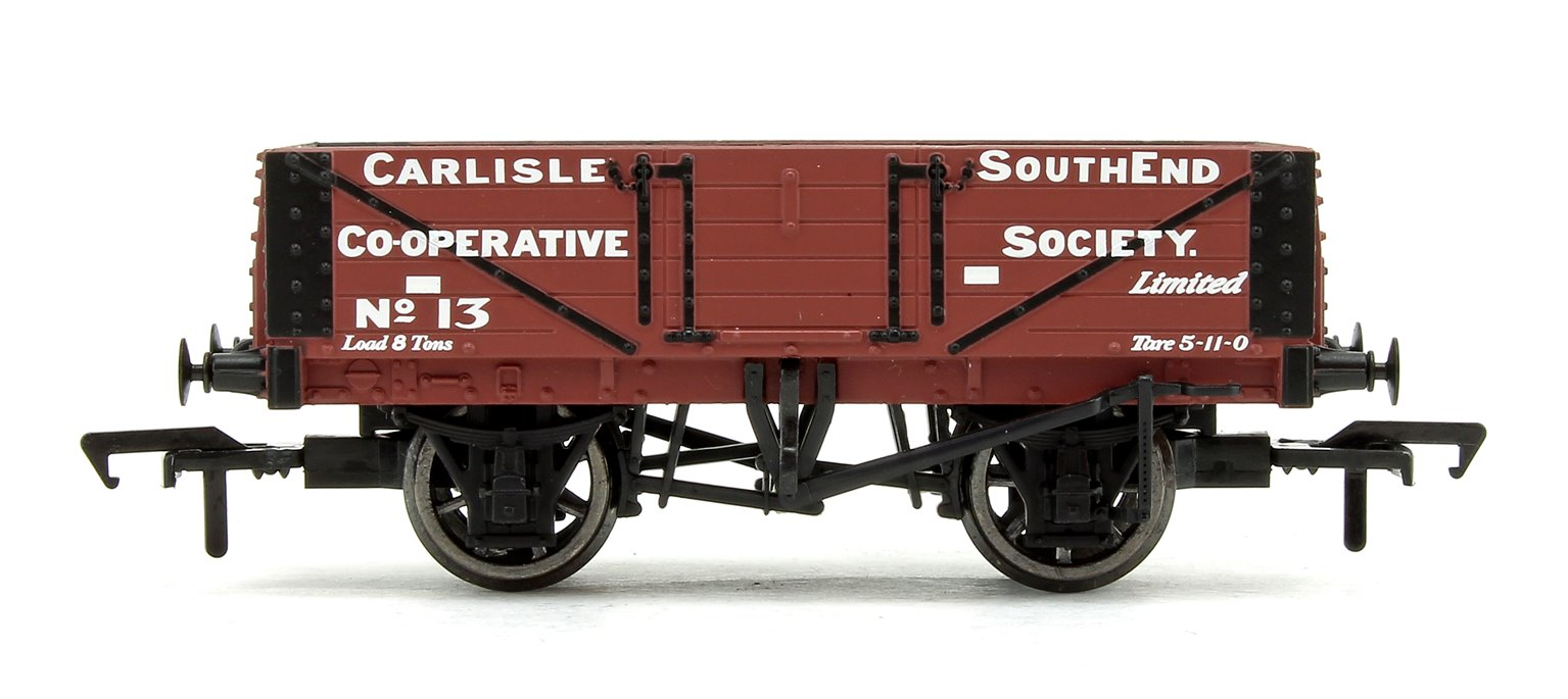 5 Plank Wagon Wooden Floor 'Carlisle Southend Co-Op Soc' with Load