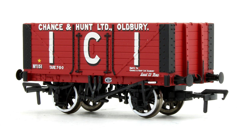 7 Plank Fixed End Wagon 'I.C.I. Chance & Hunt Ltd'