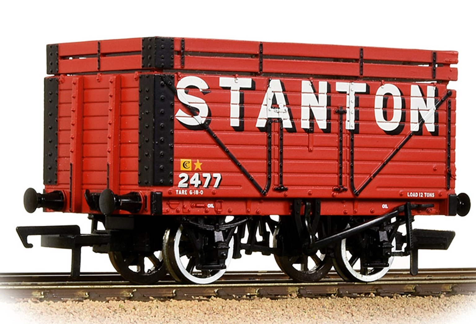 8 Plank Wagon Coke Rails 'Stanton' Red