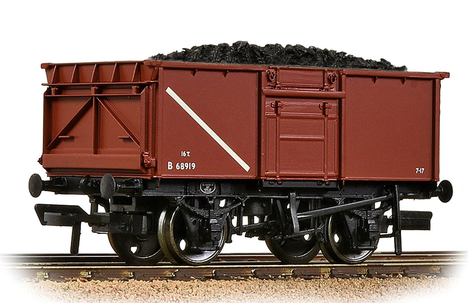BR 16T Steel Mineral Wagon BR Bauxite (Early)