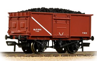 16T Steel Mineral Wagon Pressed End Door MOT Bauxite [WL]