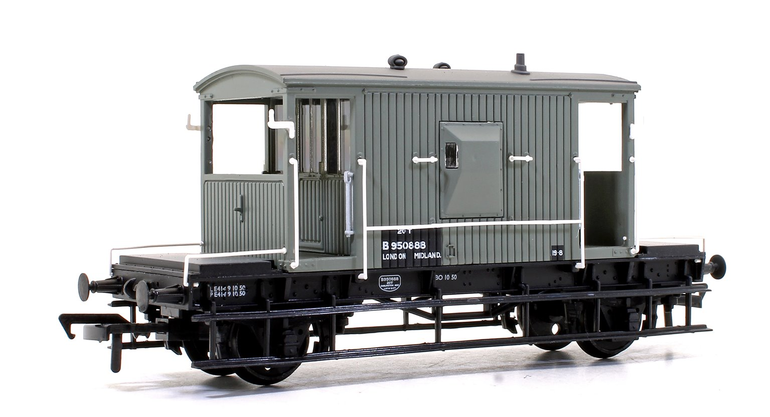 BR 20T Brake Van BR Grey (Early)