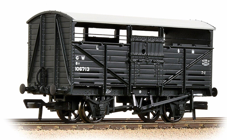 8T Cattle Wagon GWR Grey